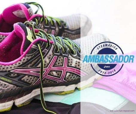 Team Asics Ambassador Announcement - Eat Spin Run Repeat
