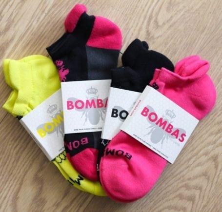 bombas socks - eat spin run repeat