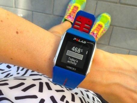 polar workout activity