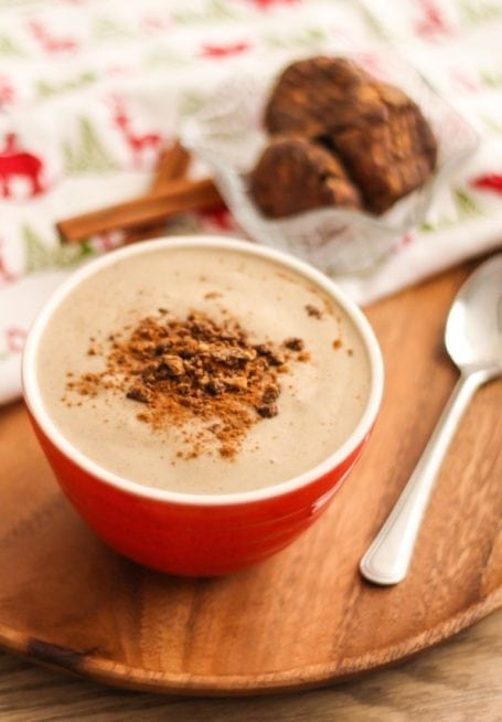 Gingerbread Man Smoothie - Eat Spin Run Repeat
