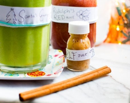 Holiday Juice Recipes from the North Pole - Lunch Box Bunch