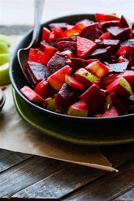 Marinated Beet and Apple Salad - Cotter Crunch