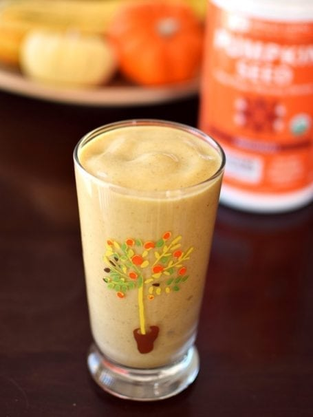 Pumpkin Spice Protein Shake - Go Dairy Free
