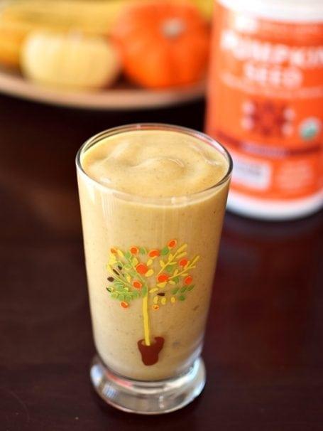 Pumpkin Spice Protein Shake - Go Dairy Free