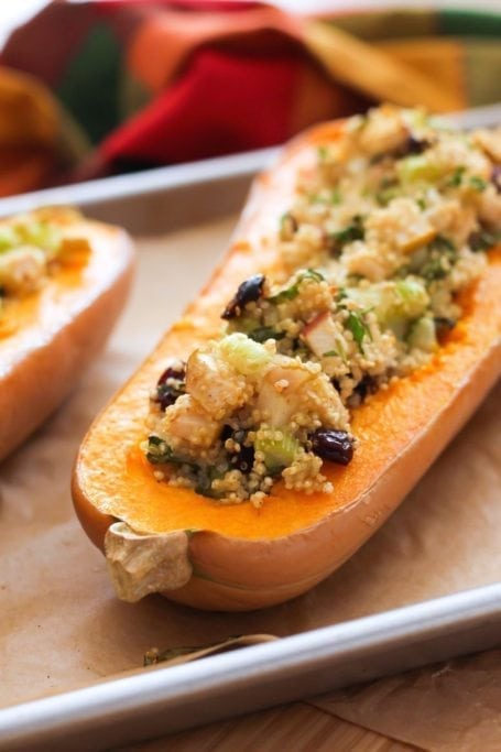 Twice-Baked Butternut Squash - Eat Spin Run Repeat