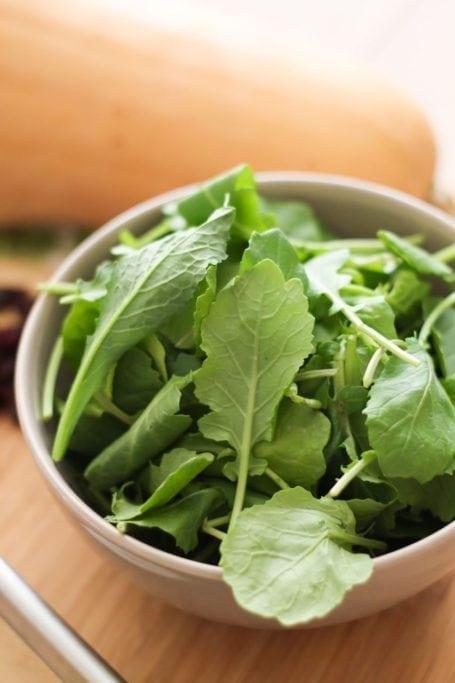 baby kale leaves