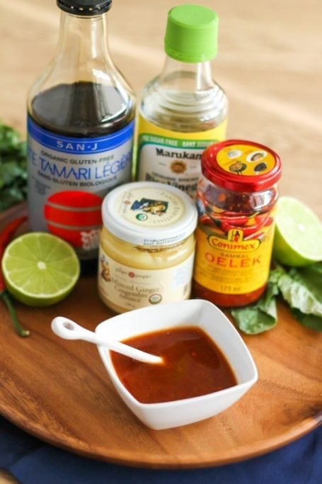 ingredients for pad thai sauce