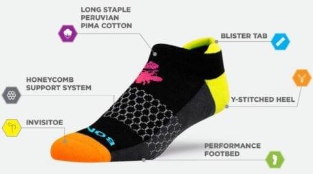 Bombas Socks - Features