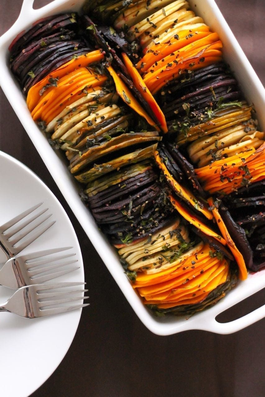 how to make vegetable baked dish