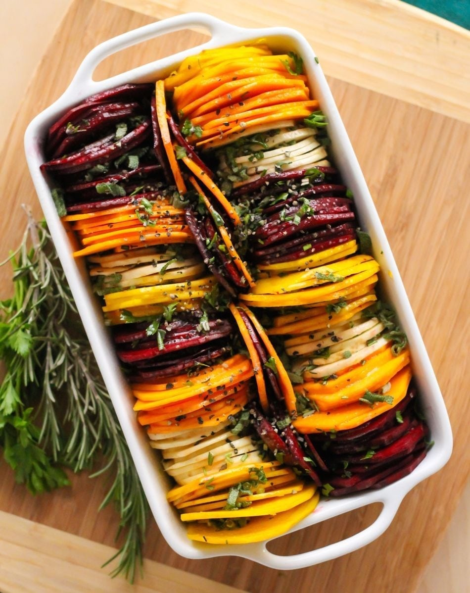 Fancy shmancy herb roasted root vegetables herb roasted root vegetables eat spin run repeat forumfinder Images