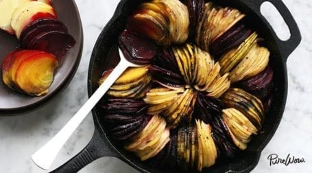 oven roasted beets and potatoes - pure wow