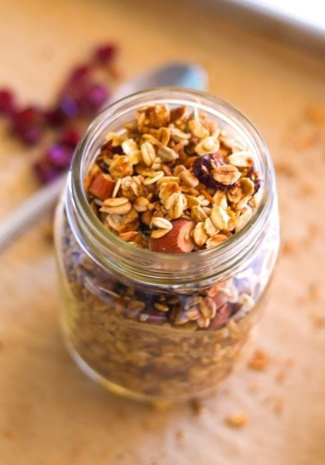 Cranberry Orange Granola - Eat Spin Run Repeat