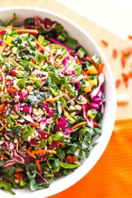 Fresh Start Superfood Salad - Eat Spin Run Repeat
