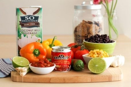 Ingredients for Vegan 7-Layer Taco Dip - Eat Spin Run Repeat