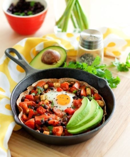 Huevos Rancheros Skillet - Eat Spin Run Repeat