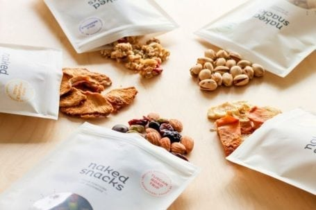 Naked Snacks nut and dried fruit mixes