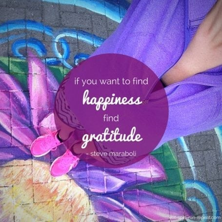 If you want to find happiness, find gratitude - Steve Maraboli