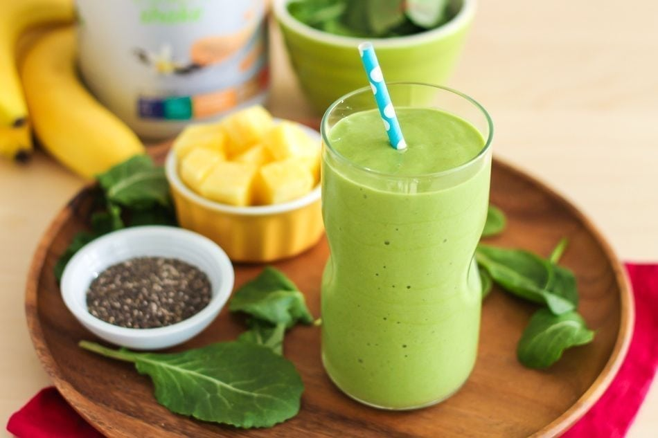 My Favourite Stress-Busting Digestion-Boosting Smoothie - Eat Spin Run Repeat