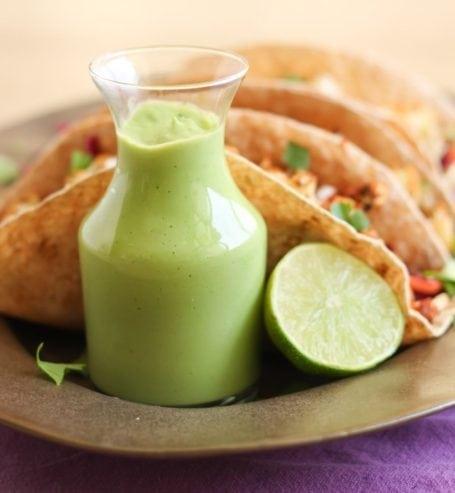 Thai Roasted Cauliflower Tacos - Eat Spin Run Repeat