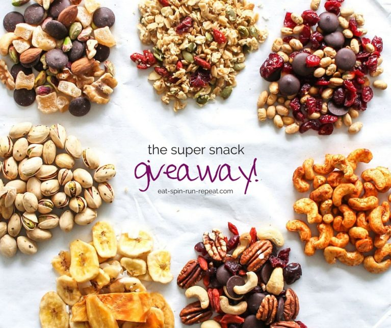 The Super Snack Giveaway - Eat Spin Run Repeat