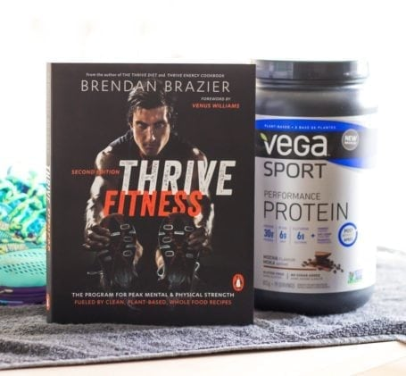 Thrive Fitness and Vega Sport Performance Protein