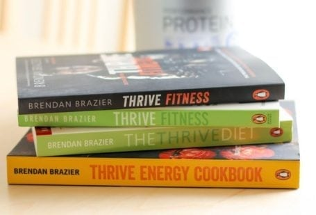 Thrive series of books by Brendan Brazier