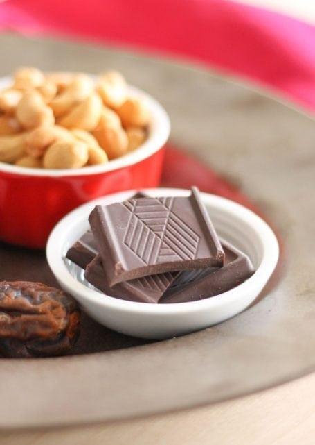 dark maca chocolate