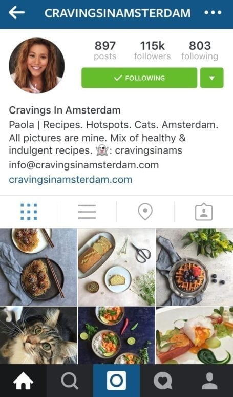 8 Instagram foodies you need to follow - cravingsinamsterdam