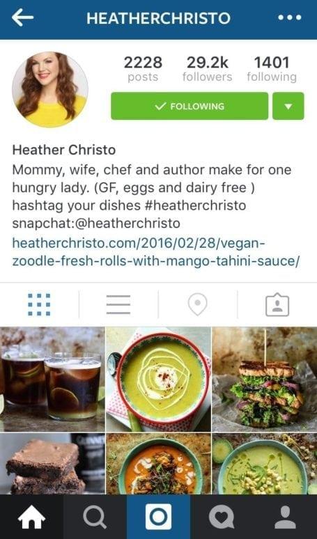 8 Instagram foodies you need to follow - heatherchristo