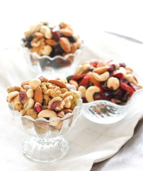 raw nut mixes from ayoub's dried fruit and nuts