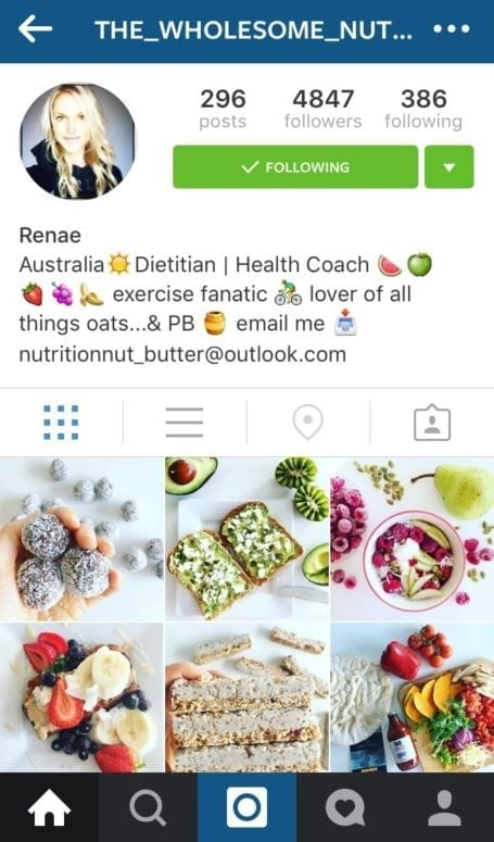 8 Instagram foodies you need to follow - the_wholesome_nutritionist