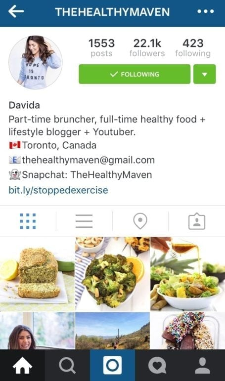 8 Instagram foodies you need to follow - thehealthymaven