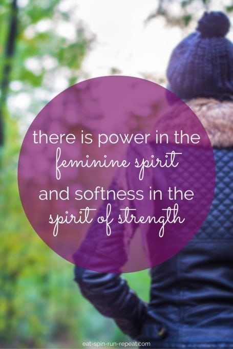 there is power in the feminine spirit