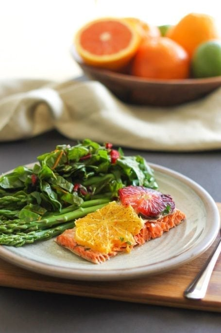 Baked Salmon with Citrus and Herbs - Eat Spin Run Repeat2