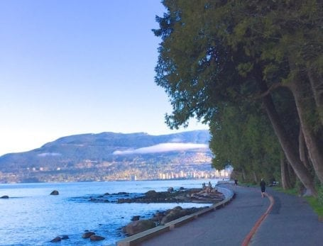 Vancouver Sea Wall - Eat Spin Run Repeat