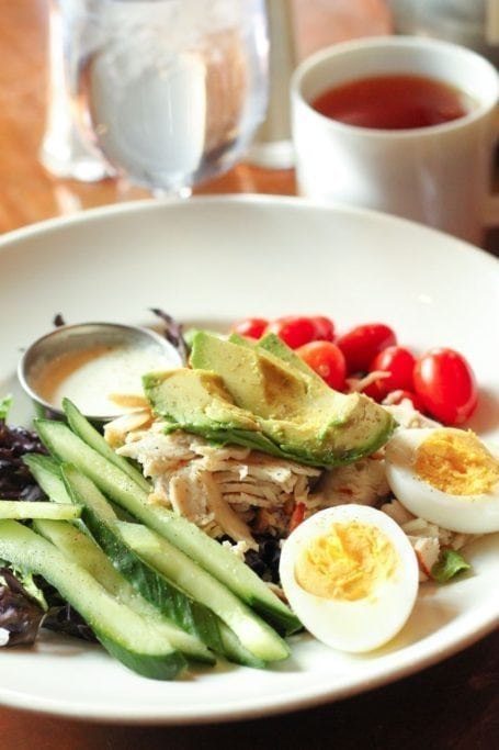 Canadian Cobb Salad at Maple Leaf Grill and Lounge
