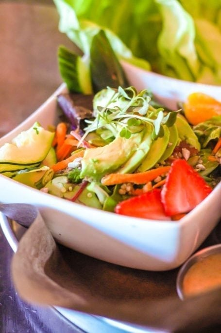 Nourish Bistro Superfood Salad