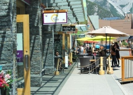 bear st restaurants in banff