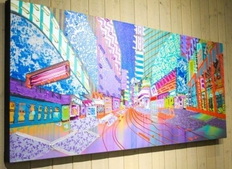 painting at Canada House Gallery