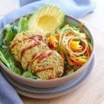 Baked Green Curry Falafels - vegan, gluten-free and low-sugar lunch or portable snack || Eat Spin Run Repeat