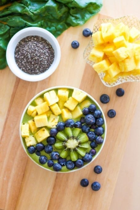 Post-Workout Perfection Smoothie Bowl - Eat Spin Run Repeat