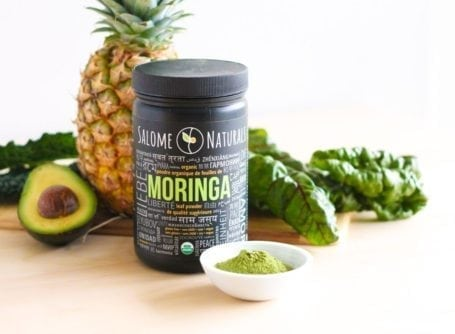 Salome Naturals Moringa - Eat Spin Run Repeat