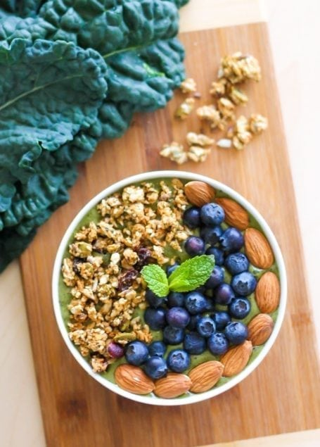 Stress Release Smoothie Bowl - Eat Spin Run Repeat