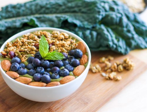 Stress Release Smoothie + 7 superfood pantry staples