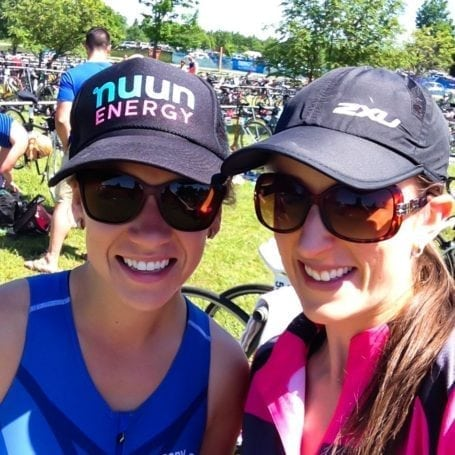 jess and i at the guelph subaru triathlon 2014