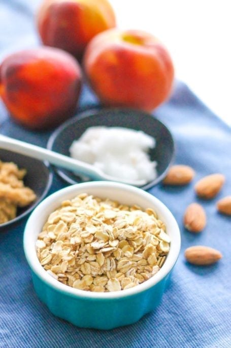 oats and coconut oil