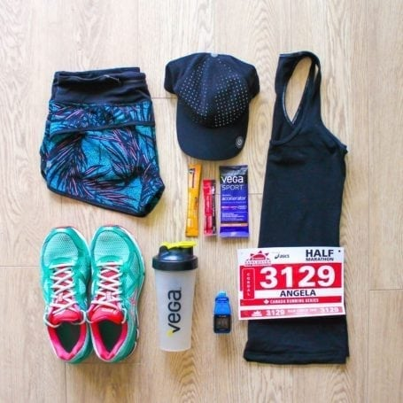 race outfit for Scotiabank Vancouver Half Marathon