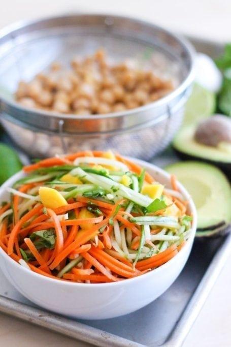 spiralized veggies
