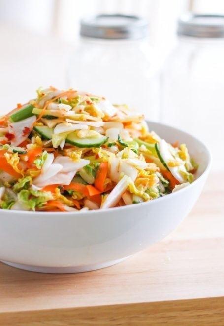 Easy DIY Kimchi tutorial - Eat Spin Run Repeat
