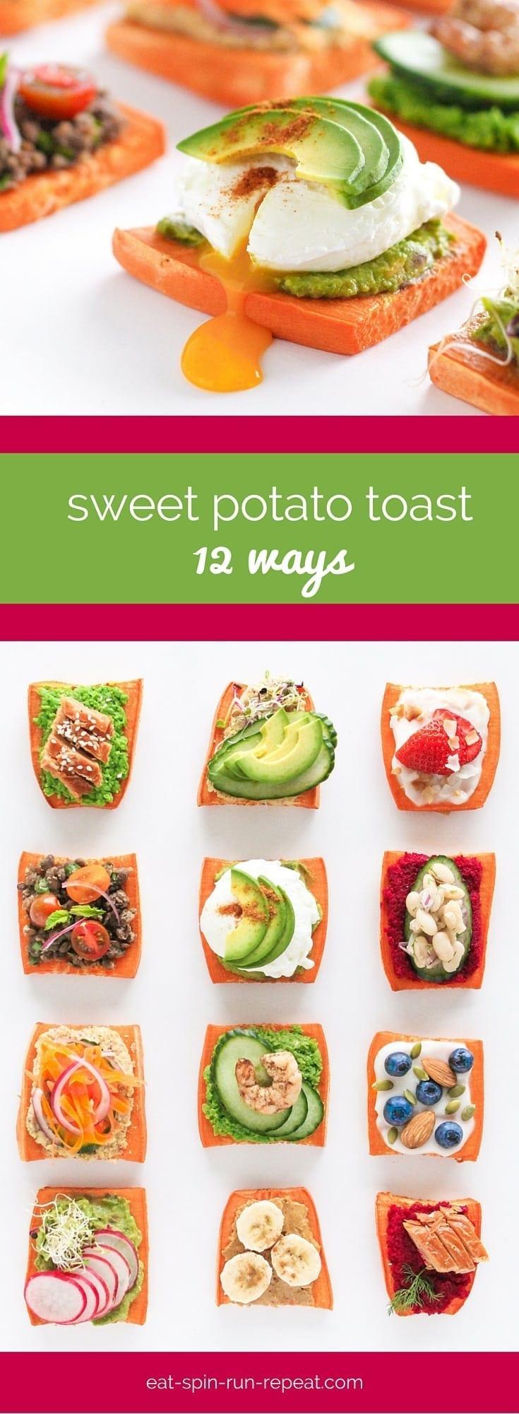 Trending Now - Sweet Potato Toast - Eat Spin Run Repeat